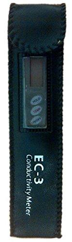 HM Digital EC-3 M EC Metro Millisiemens conduttivita elettrica EC Tester con Custodia palmare /& Portatile Penna Tipo Metro indicare Temperatura ATC per Commerciale Utilizzare la Prova dellAcqua