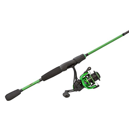 - Lew's Fishing MS4070M-2 Ambidextrous Lews Mach Spinning Combo, 7'