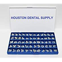 Polycarbonate Temporary Dental Crowns Box Kit 180 Pcs With Paper Guide Chart US SELLER HOUSTON DENTAL SUPPLY by House Brand (Image #1)