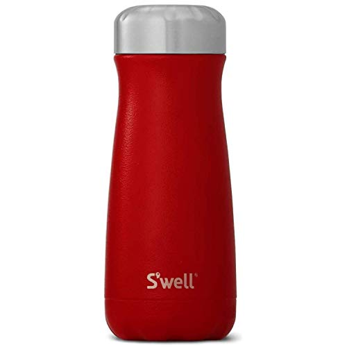 S'well Stainless Steel Traveler-16 Fl Oz-Flare Triple-Layered Vacuum-Insulated Containers Keeps Drinks Cold for 26 Hours and Hot for 11-with No Condensation-BPA Free Water Bottle, 16oz