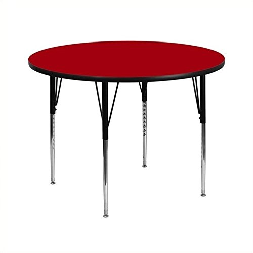 Rosebery Kids Round Activity Table in Red