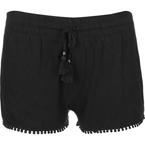Ragwear Shorts Damen Aniko 2011-50001 Schwarz Black 1010