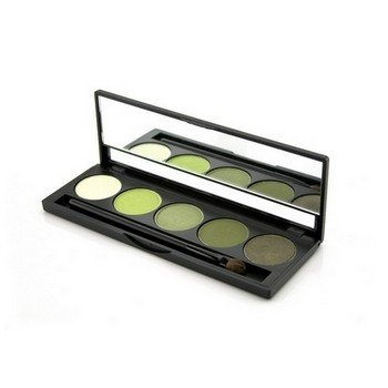 Jolie Micro Fine Mineral 5 Shade Eyeshadow Compact W/Brush -