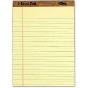 (TOPS The Legal Pad Ruled Top Perforated Pad - TOP7532_2 - 2 Item Bundle supplier:shoplet)