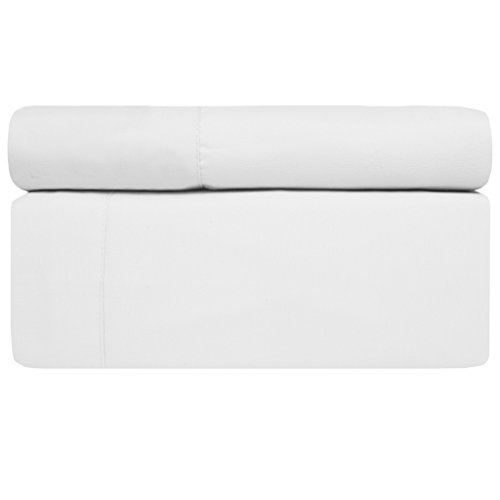 Aurora Bedding # #1 1800 Series 6 Piece Bed Sheet Set with Deep Pocket - Luxury, Soft, Comfort, Hypoallergenic - Same Price with 2 Extra Pillowcases - Queen, White,