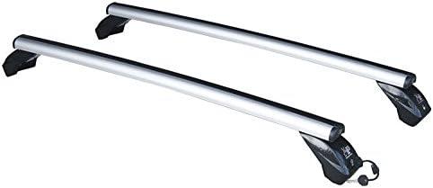 La Prealpina Coppia di Barre PORTATUTTO in Alluminio LP56 con Kit di ATTACCHI SPECIFICI