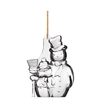 Marquis By Waterford 2013 Christmas Tree Snowman Ornament, 4-Inch