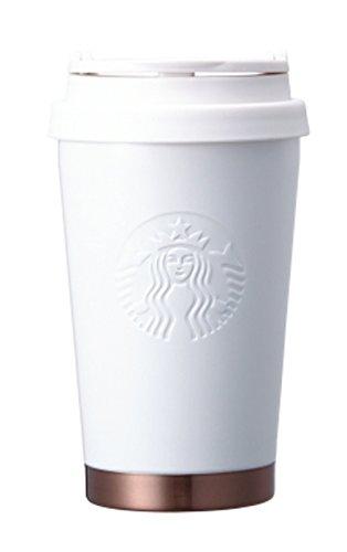 해외 한정 스타벅스 L mark《라싯쿠호와이토탄부라》 Starbucks SS Elma classic white tumbler 355ml  (화이트)