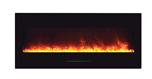 Cheap Amantii WM-FM-50-BG-EMBER Wall Mount / Flush Mount Series Electric Fireplace with Ember Media Kit 50-Inch Black Friday & Cyber Monday 2019