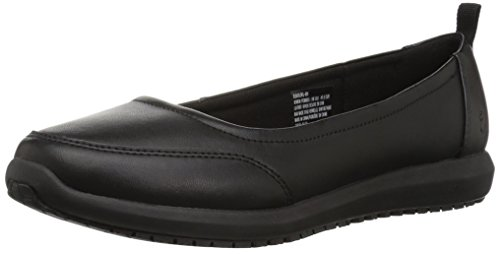 Emeril Lagasse Women's Julia Slip-Resistant Work Shoe, Black, 8 W US by Emeril Lagasse