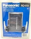 Panasonic Portable Cassette Player with AM FM Radio Model RQ-V51