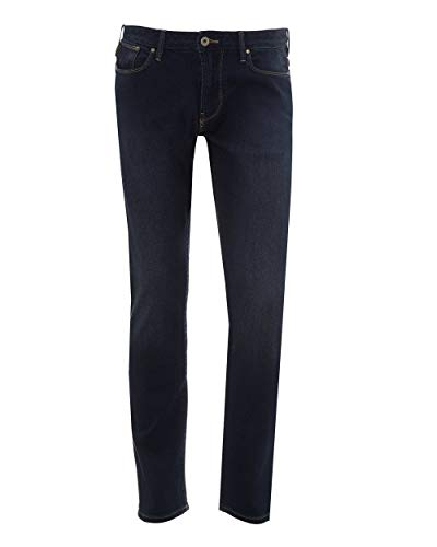 Armani Men's J06 Slim Fit Jeans Denim Blue 38 Regular