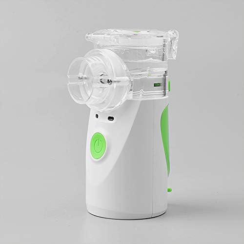 XKCGH Nebulizador Portátil, Vaporizador Personal, Inhalador De Vapor Mini Nebulizador Ultrasónico Silencioso Médico para El Hogar, para Niños Y Adultos, Viajes Y Uso Doméstico,Azul: Amazon.es: Hogar