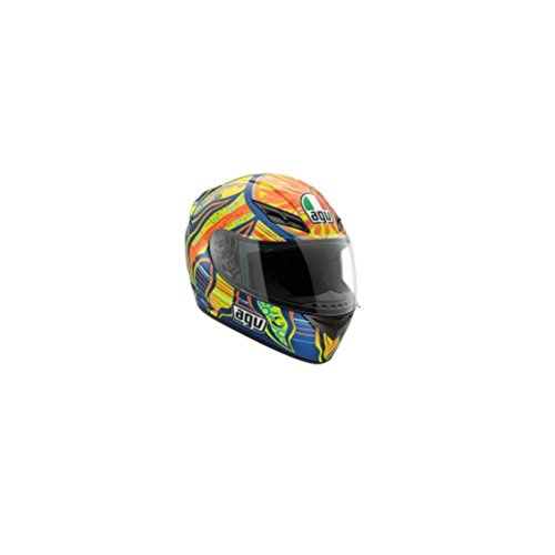 AGV K3 5-Continents Helmet , Distinct Name: 5-Continents, Gender: Mens/Unisex, Helmet Category: Street, Helmet Type: Full-face Helmets, Primary Color: Blue, Size: Lg 032150A0015009