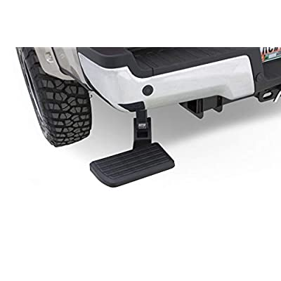 AMP Research 75324-01A BedStep Retractable Bumper Step for 2020 Ram 2500/3500: Automotive