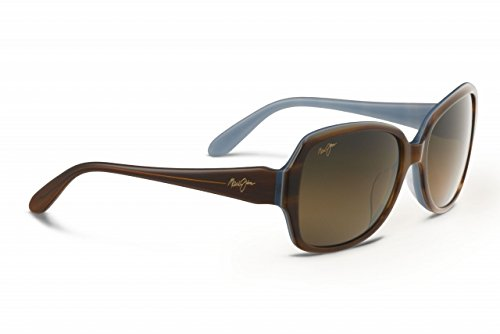 Maui Jim Womens Kalena 57 Sunglasses (299) Brown/Bronze Acetate - Polarized - - Meaning Hawaiian Kalena