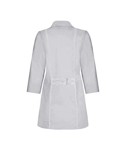 Panda Uniform Custom Colored Lab Coat for Women 30 Inch length-Grey-M by Panda Uniform (Image #4)