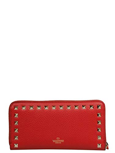 Valentino Garavani Women's Rw2p0645vsh0ro Red Leather for sale  Delivered anywhere in USA