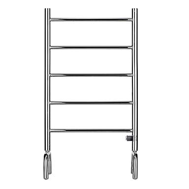 Electric Hanging Steel Stainless Heater (Freestanding Thermostatic Electric Towel Warmer Rack Full Welding 304# Stainless Steel Rustproof Mirror Polished Drying Clothing Rack Heater 5 Bar LY5)