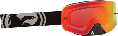 Dragon Alliance Inverse Adult NFXS Off-Road Motorcycle Goggles - Red Ionized / Medium (Stars Off Road Goggles)