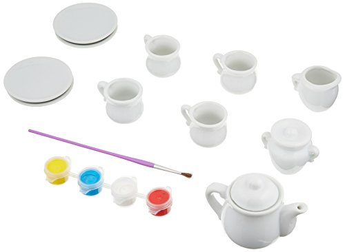 4M Paint Your Own Mini Tea Set -
