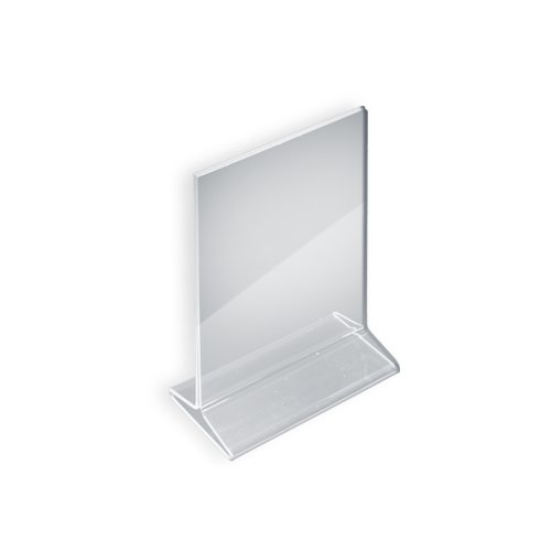 Azar 142711 5-1/2-Inch W by 8-1/2-Inch H Top-Load Acrylic Sign Holder, 10-Piece Set
