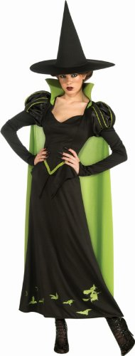 Wizard Of Oz Costumes - Rubie's Costume Wizard Of Oz 75th Anniversary Edition Adult Wicked Witch Of The West, Black/Green, One Size Costume