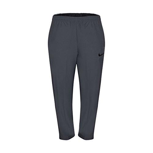 Nike Men's Team Woven Pants Black/Grey Training Sweatpants (X-Large)