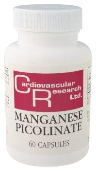 Cardiovascular Research - Manganèse Picolinate, 60 capsules