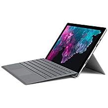 Microsoft Surface Pro 6 (Intel Core i5, 8GB RAM, 128GB) - Newest Version and Microsoft Surface Pro Signature Type Cover- Platinum Bundle