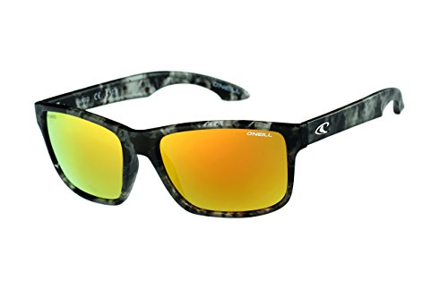 O'Neill Anso 127P Polarized Wayfarer Sunglasse, Matte Black - Polarized Sunglasse