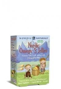 Nordic Naturals - Omega-3 - 36 Gelées à croquer