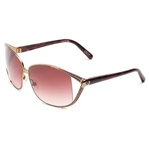 Spy Optic Women's Kaori Metal Sunglasses,Champagne W/Purple Marble Frame/Merlot Fade Lens,one size