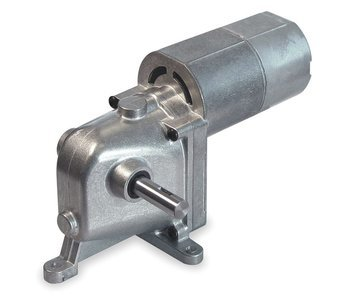 AC/DC Gearmotor, 4.5 rpm, 115V, Open Vented by Gear Motor
