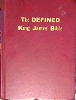 the defined king james bible uncommon words defined large print