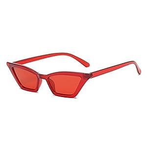 FEISEDY Small Cat Eye Sunglasses Vintage Square Shade Women Eyewear B2291