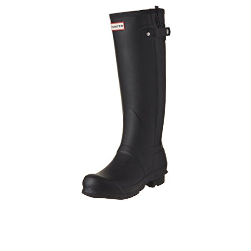 New Hunter Original Slim stivaletti Zip Wellington Ladies' - Black