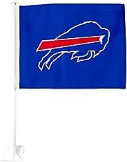 NFL 2-Sided Car Flag - Vehicle Décor Flag - Premium Window Car Flag - Auto Accessories for Car & Trucks -