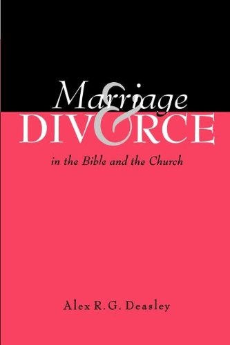 Marriage and Divorce in the Bible and the Church PDF
