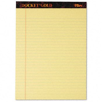 TOP63950 - Docket Ruled Perforated Pads