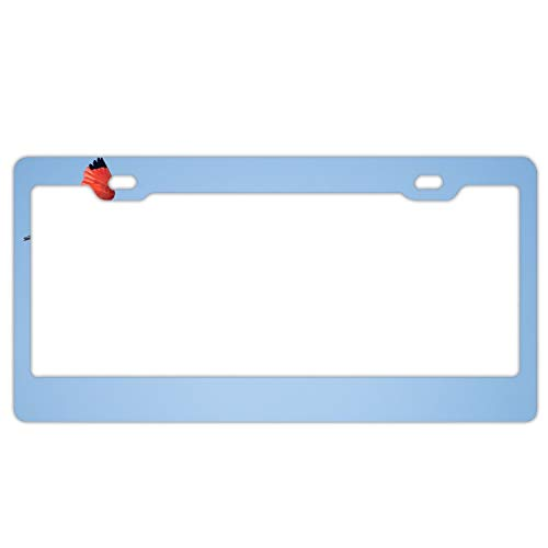 Flying Flamingos Novelty Vanity License Plate Tag Sign ()