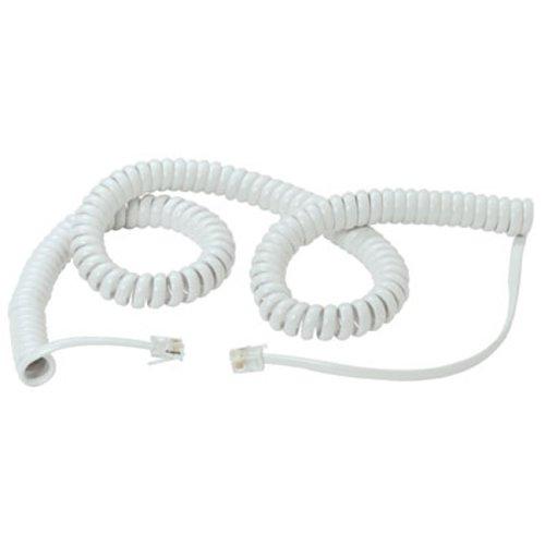 Cable para tel/éfono color blanco Lindy