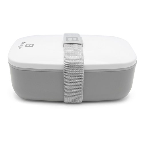 Bentgo All-in-One Stackable Lunch/Bento Box, Grey by Bentgo (Image #2)