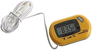 BFHCVDF LCD Digital Fish Aquarium Thermometer Water Terrarium FREE Extra Batteries
