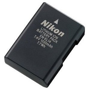 Nikon EN-EL14 Rechargeable Li-Ion Battery for Select Nikon DSLR Cameras (Retail Package)