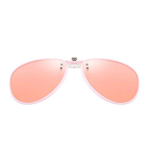 de y Las de miopía de un Clips Las Las Sol Los reflejan miopía los de Mujeres la Hombres Gafas Gafas de de Sol polaridades de E de la Las KOMNY Retros B7w4U