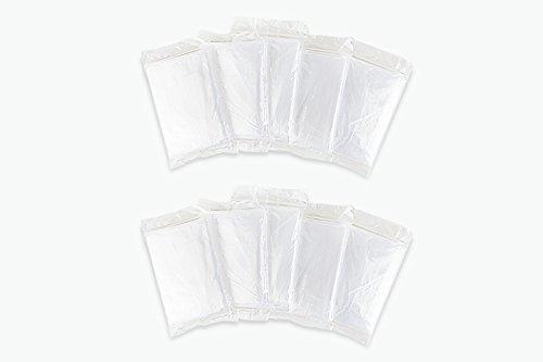 Eaglefort Emergency Disposable Ponchos - 5, 10, 20 Pack (10 Pack) by Eaglefort (Image #4)