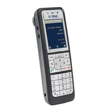 Mitel 612d DECT Telephone Black,Silver (Black Dect Telephone)