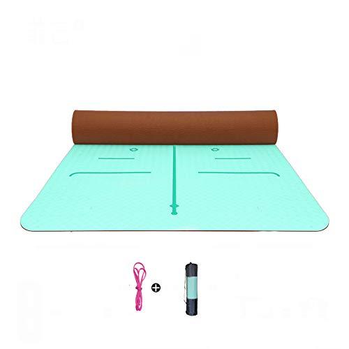 LXMBox Tapete de Yoga Cuadrado/Tapete de meditación, Felpudo ...