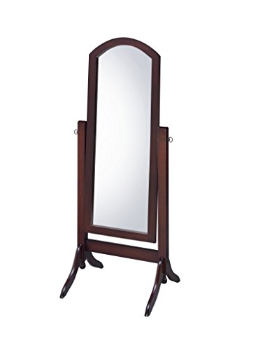 Proman Products CV17001 Barrington Cheval Mirror, Walnut